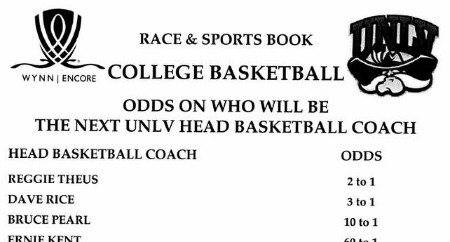 UNLV coaching odds